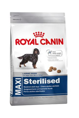 royal canin maxi sterilised para perros esterilizado. Black Bedroom Furniture Sets. Home Design Ideas