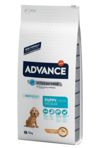 Advance Medium Puppy Pollo y Arroz