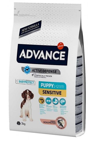 Advance Puppy Sensitive Salmón y Arroz