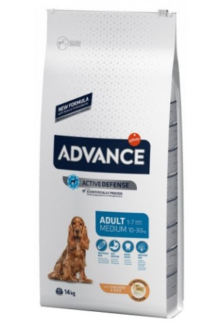Advance Medium Adulto Pollo y Arroz