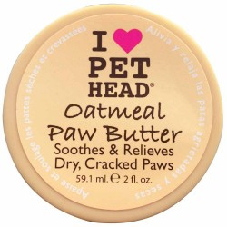 Frasco Pet Head Paw Butter oatmeal con 59ml