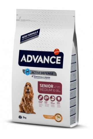 Advance Medium Senior Pollo y Arroz